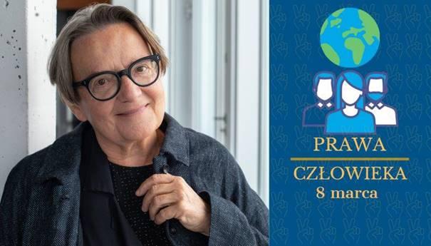 8 marca konferencja online młodzieży o prawach człowieka. Gość honorowy Agnieszka Holland